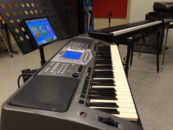 Keyboard voor jongeren