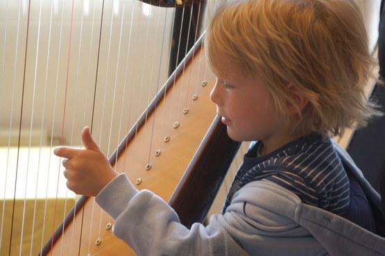 Harp voor kinderen