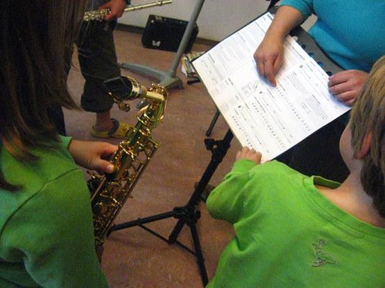 Muziektheorie A,B,C,D voor kinderen