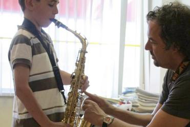 Saxofoon voor kinderen